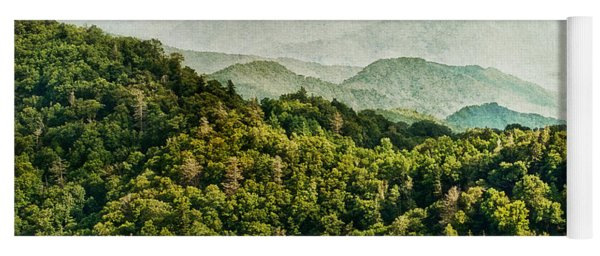 Smoky Mountain Reflections Yoga Mat