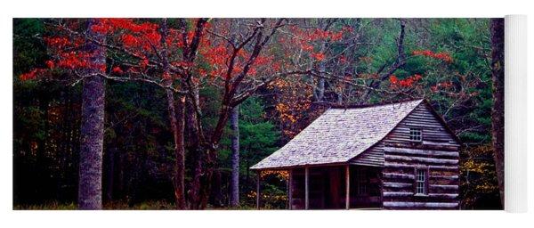Smoky Mtn. Cabin Yoga Mat
