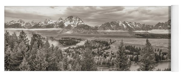 Snake River Overlook Grand Teton Yoga Mat