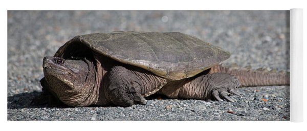 Snapping Turtle Female Yoga Mat