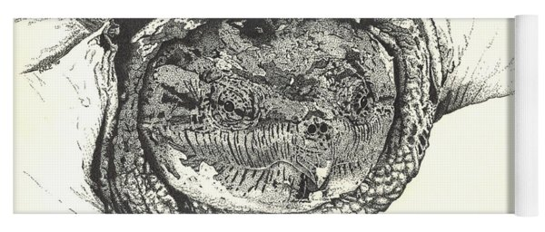 Snapping Turtle Yoga Mat