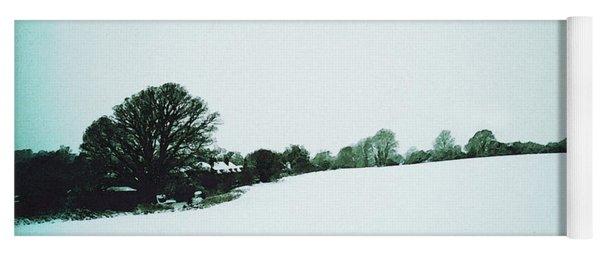 Snow In Sussex Yoga Mat