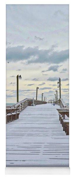 Snow On The Beach 3 Yoga Mat