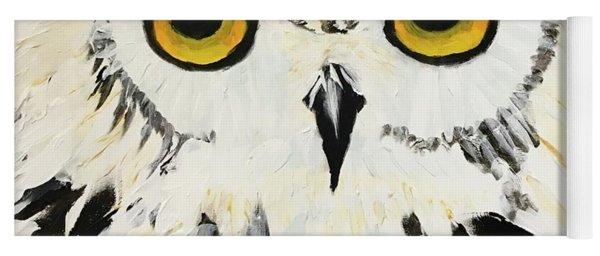 Snow Owl Yoga Mat
