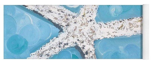 Snow White Starfish Yoga Mat