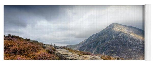 Snowdonia Welsh Mountains Yoga Mat