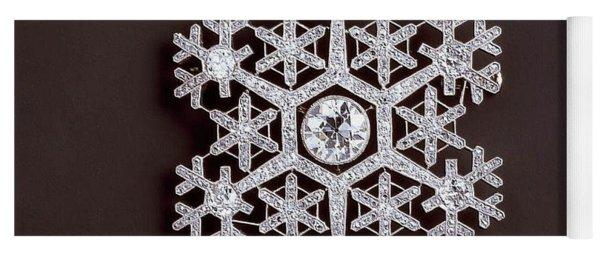 snowflake II Yoga Mat
