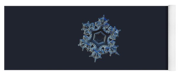 Snowflake Photo - Spark Yoga Mat