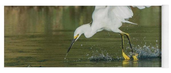 Snowy Egret 4830-091917-1cr Yoga Mat
