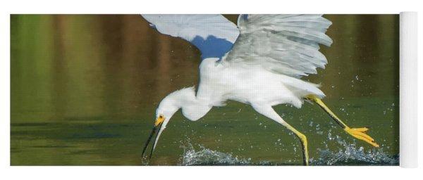 Snowy Egret 4845-091917-2cr Yoga Mat