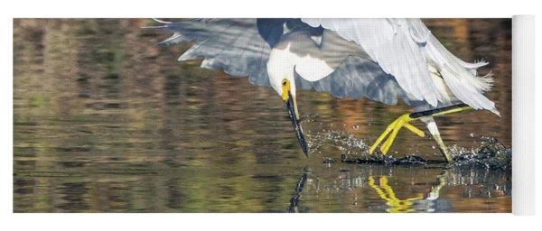 Snowy Egret 5165-092117-2cr Yoga Mat
