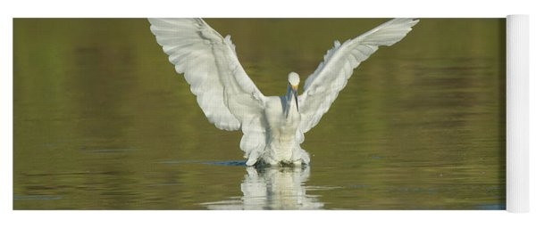 Snowy Egret 5601-092217-1cr Yoga Mat