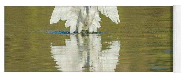 Snowy Egret 5602-092217-1cr Yoga Mat