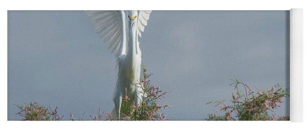 Snowy Egret 6844-100517-2 Yoga Mat