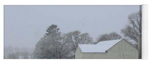 Winter White Farm Yoga Mat