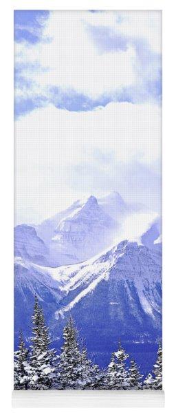 Snowy Mountain Yoga Mat