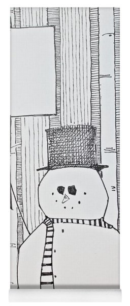 Snowy5 Yoga Mat