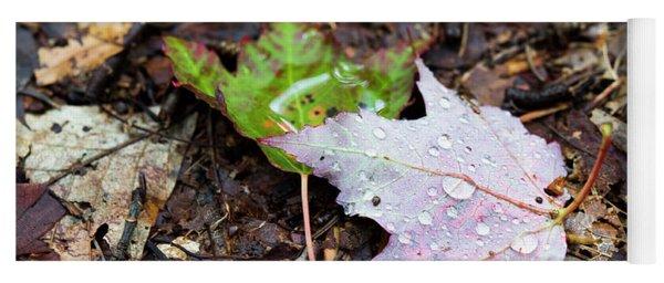 Soaken Leaves Yoga Mat