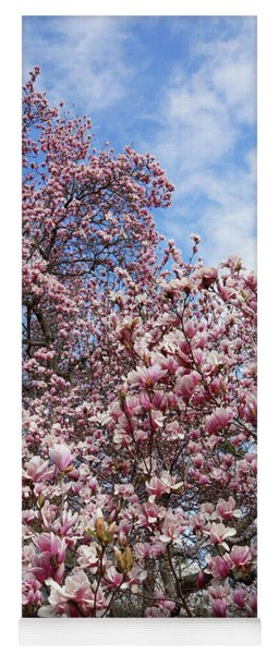 Soaring Magnolia Yoga Mat