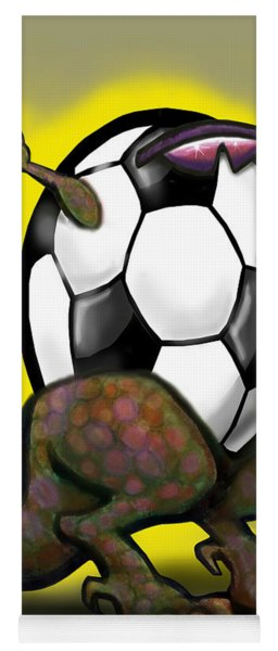 Soccer Zilla Yoga Mat