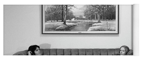 Sofa-sized Picture, With Light Switch, 1973 Yoga Mat