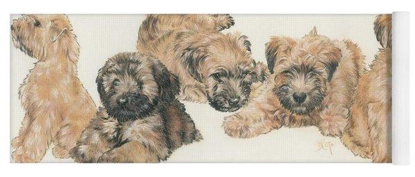 Soft-coated Wheaten Terrier Puppies Yoga Mat