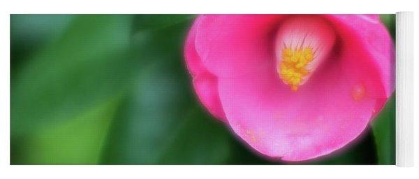 Soft Focus Flower 1 Yoga Mat