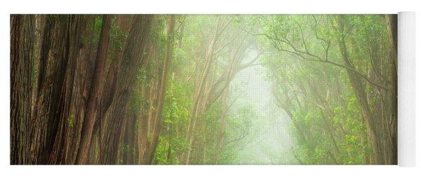 Soft Forest Light Yoga Mat