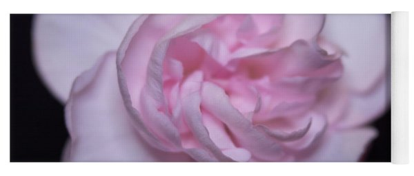 Soft Pink Rose Yoga Mat