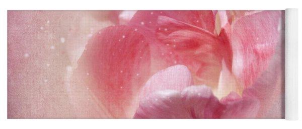 Soft Pink Tulips Yoga Mat