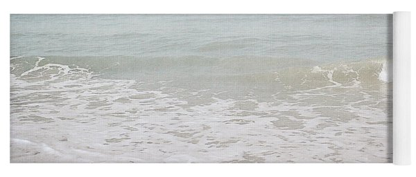 Soft Waves- Art By Linda Woods Yoga Mat
