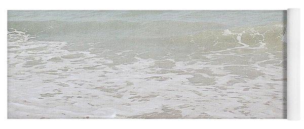 Soft Waves Sympathy Card- Art By Linda Woods Yoga Mat