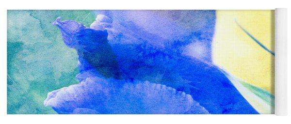 Softly Iris Yoga Mat