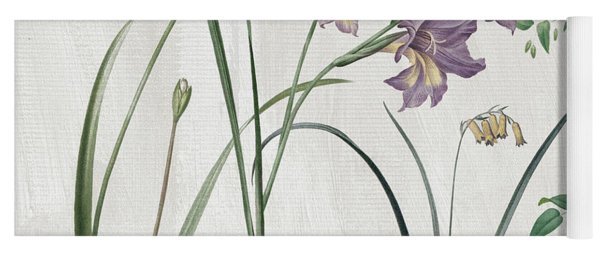 Softly Purple Crocus Yoga Mat