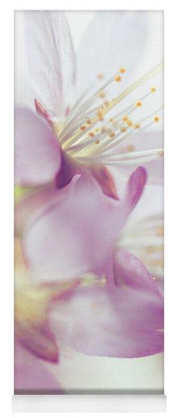 Softly Spoken. Spring Sakura Blossom Yoga Mat