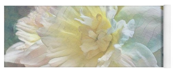 Softly Stands My Daffodil Yoga Mat