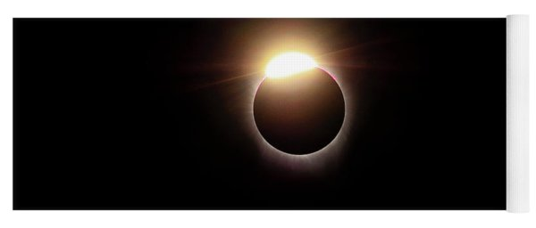 Solar Eclipse Diamond Phase Yoga Mat