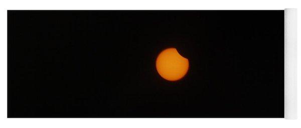 Solar Eclipse Yoga Mat