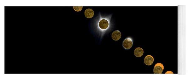 Solar Eclipse Stages 2017 Yoga Mat