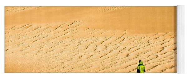 Solitude In The Dunes Yoga Mat