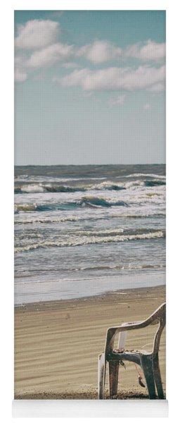Solo On The Beach Yoga Mat