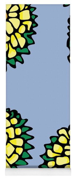 Sonchus In Color Yoga Mat