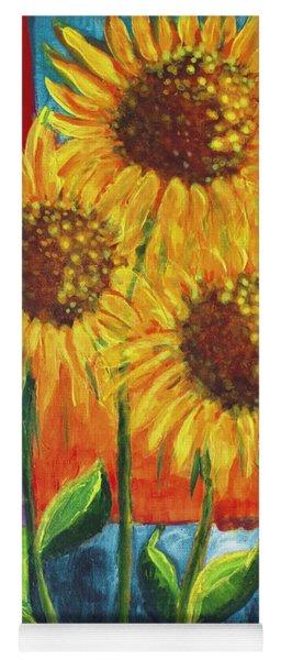 Sonflowers I Yoga Mat