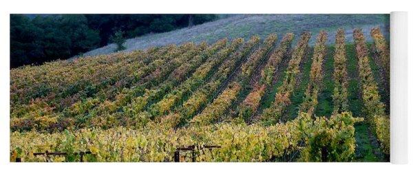 Sonoma County Vineyards Near Healdsburg Yoga Mat