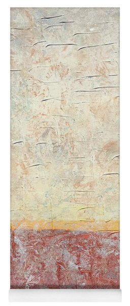 Sonoran Desert #2 Southwest Vertical Landscape Original Fine Art Acrylic On Canvas Yoga Mat