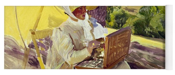 Sorolla: Painter, 1907 Yoga Mat