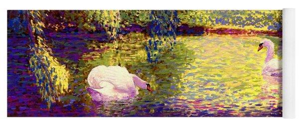 Swans, Soul Mates Yoga Mat
