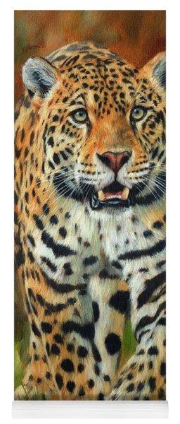 South American Jaguar Yoga Mat