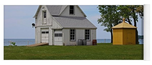 South Bass Island Lighthouse Barn And Oil Storage Building I Yoga Mat