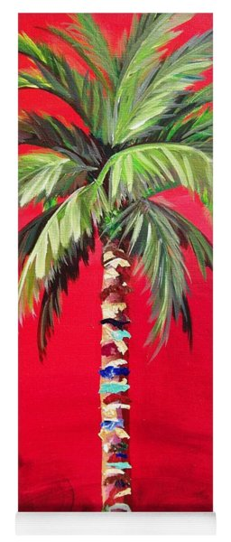 South Beach Palm II Yoga Mat
